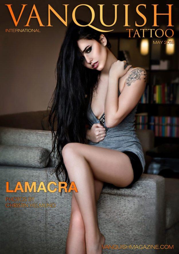 Vanquish Tattoo Magazine – May 2018 – Lamacra