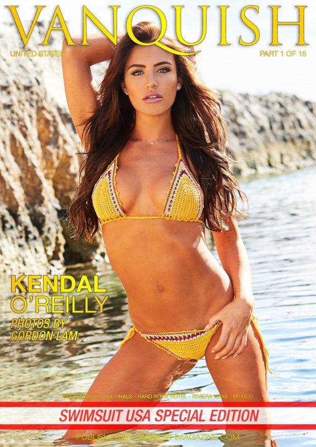 Vanquish Magazine – Swimsuit Usa – Part 1 – Kendal O'reilly