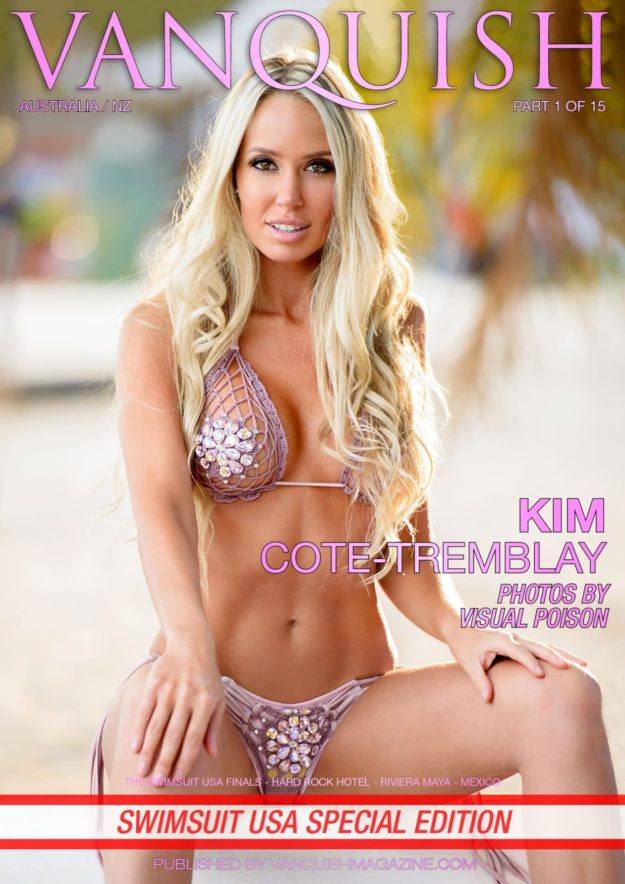 Vanquish Magazine – Swimsuit Usa – Part 1 – Kim Cote-tremblay