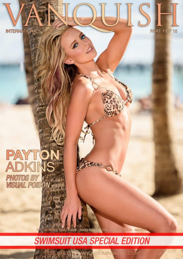 Vanquish Magazine – Swimsuit Usa – Part 1 – Payton Adkins