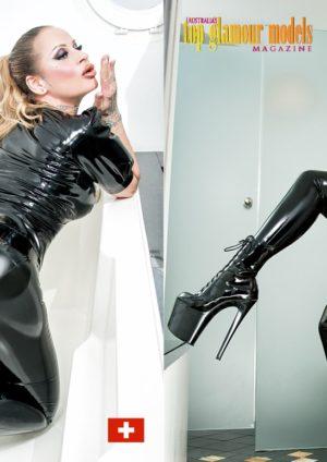 Australia's Top Glamour Models - Lingerie & Latex - Dani Divine 3
