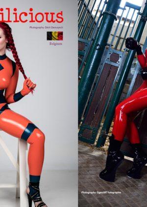Australia's Top Glamour Models - Lingerie & Latex - Dani Divine 5