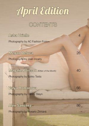 Vanquish Magazine - April 2019 - Magalie Poisson 1