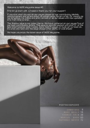 Nude Magazine - Numero 11 - Shadow Issue 2