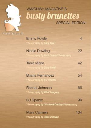Vanquish Magazine - August 2019 - CJ Sparxx 1