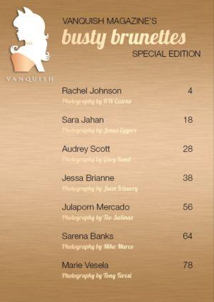 Vanquish Magazine – September 2019 – Sara Jahan