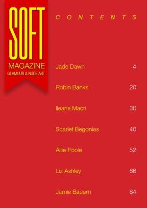 Soft Magazine – February 2020 – Scarlet Begonias