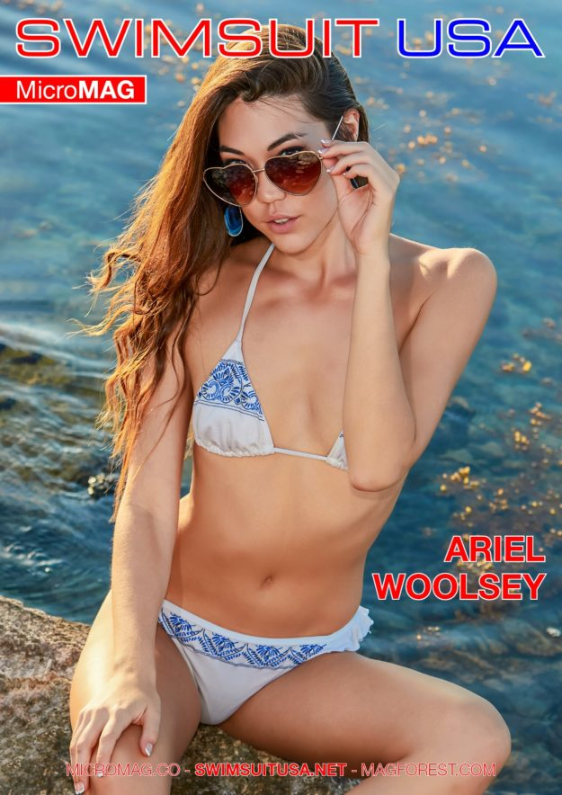 Swimsuit Usa Micromag – Ariel Woolsey