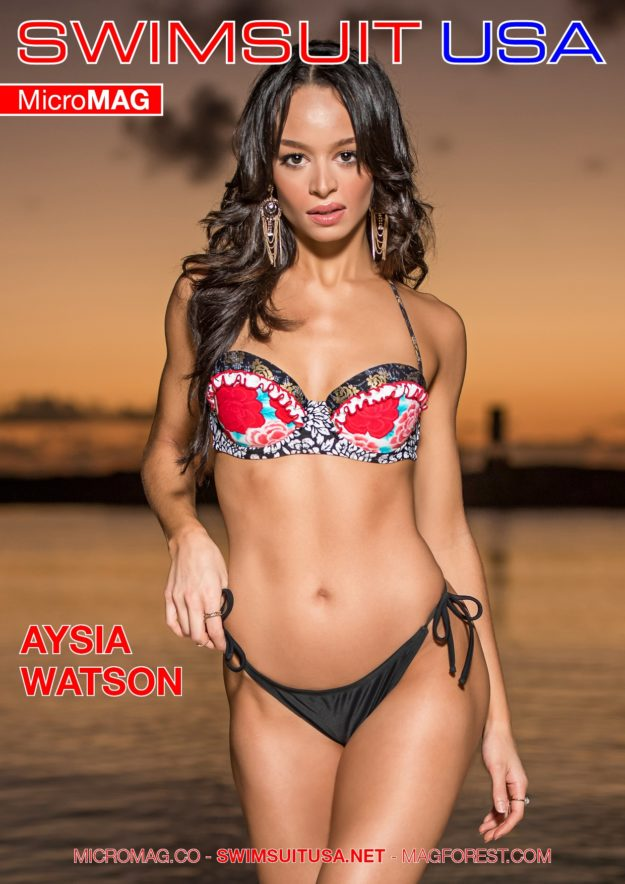 Swimsuit Usa Micromag – Aysia Watson