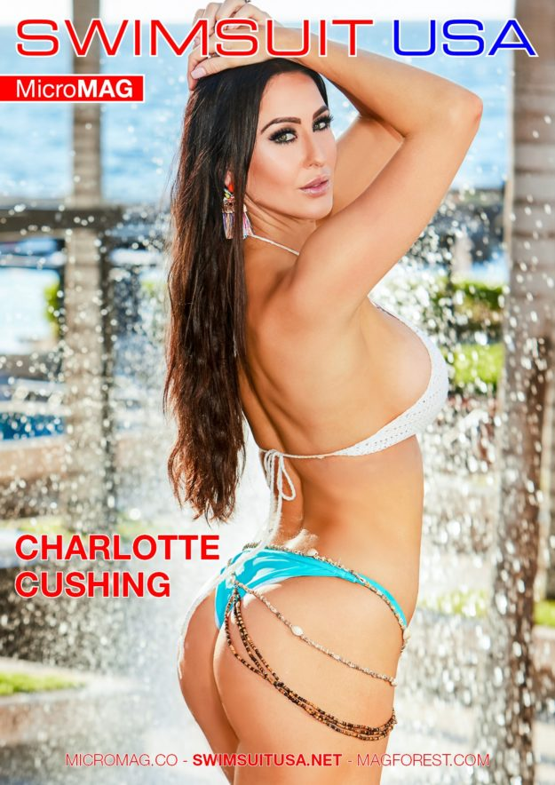 Swimsuit Usa Micromag – Charlotte Cushing