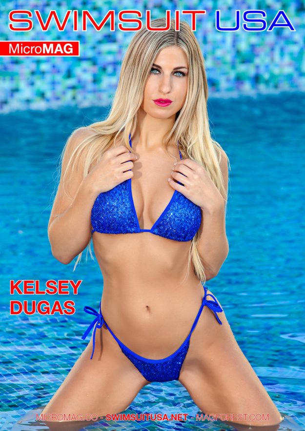 Swimsuit Usa Micromag – Kelsey Dugas