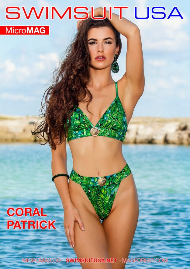 Swimsuit Usa Micromag – Coral Patrick – Issue 2