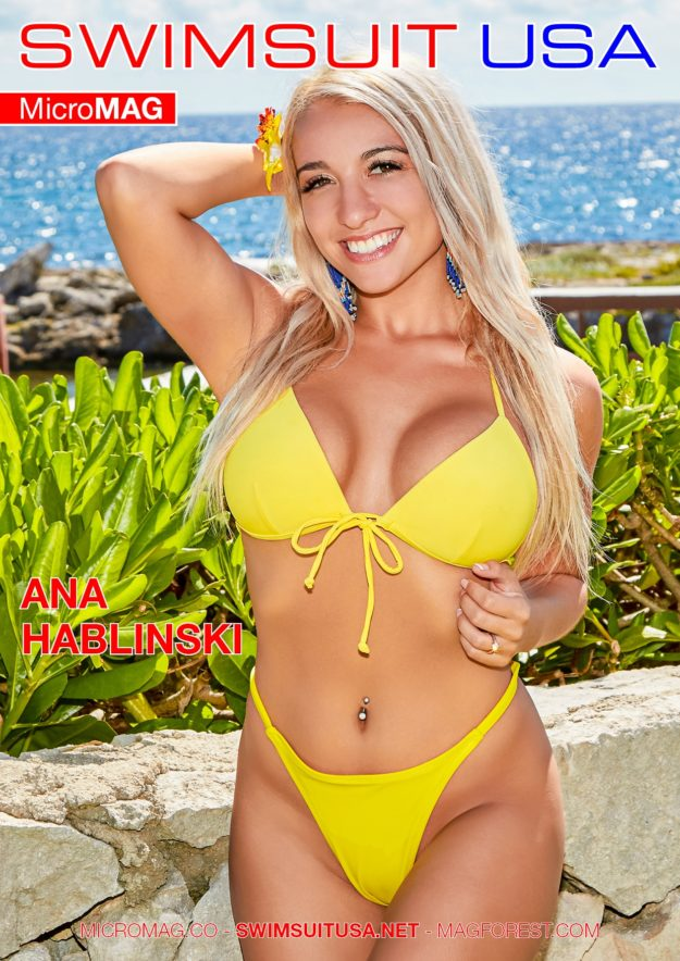 Swimsuit Usa Micromag – Ana Hablinski – Issue 3