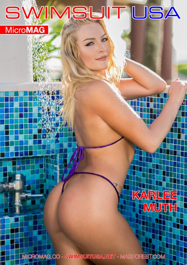 Swimsuit Usa Micromag – Karlee Muth – Issue 2