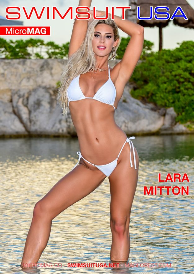 Swimsuit Usa Micromag – Lara Mitton – Issue 4