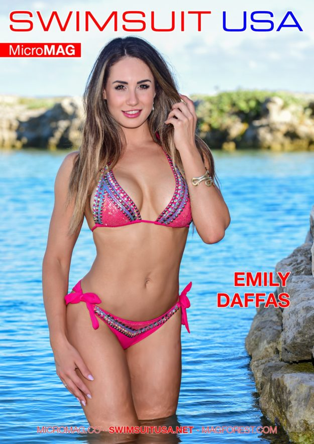 Swimsuit Usa Micromag – Emily Daffas