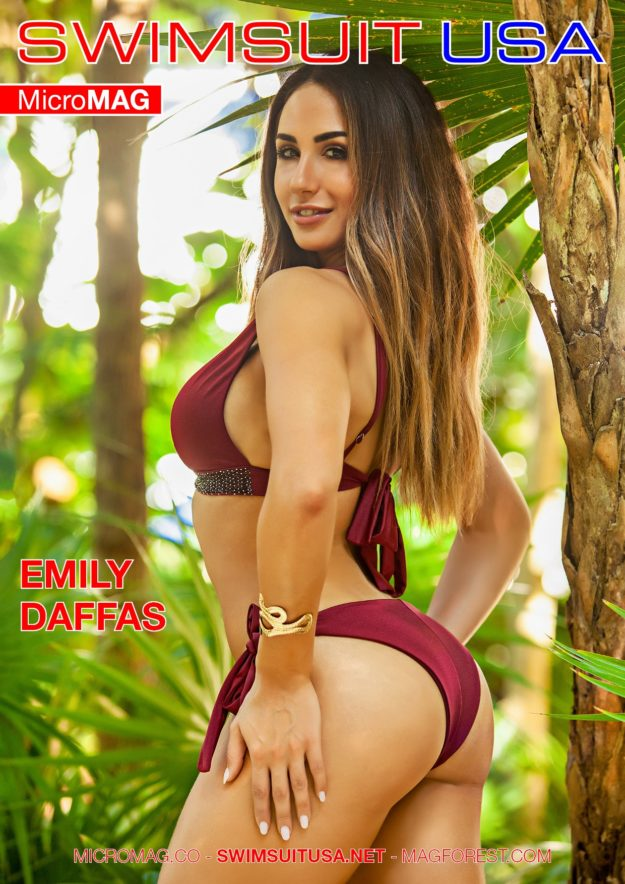 Swimsuit Usa Micromag – Emily Daffas – Issue 2
