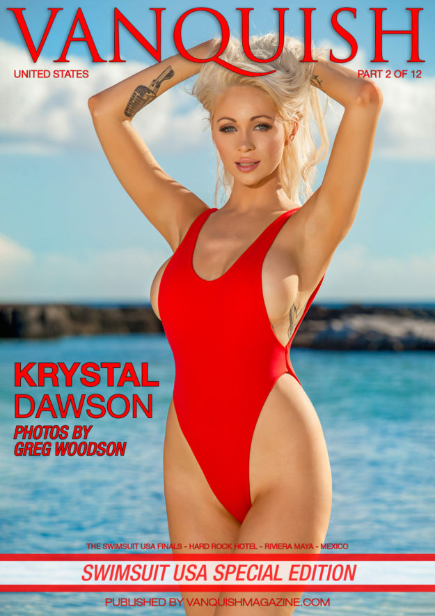 Vanquish Magazine – Swimsuit Usa 2018 – Part 2 – Krystal Dawson