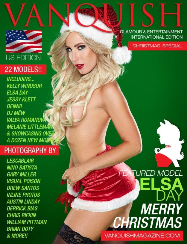 Vanquish Magazine – Christmas 2014 – Elsa Day
