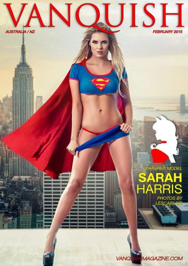 Vanquish Magazine Anz – February 2015 – Sarah Harris