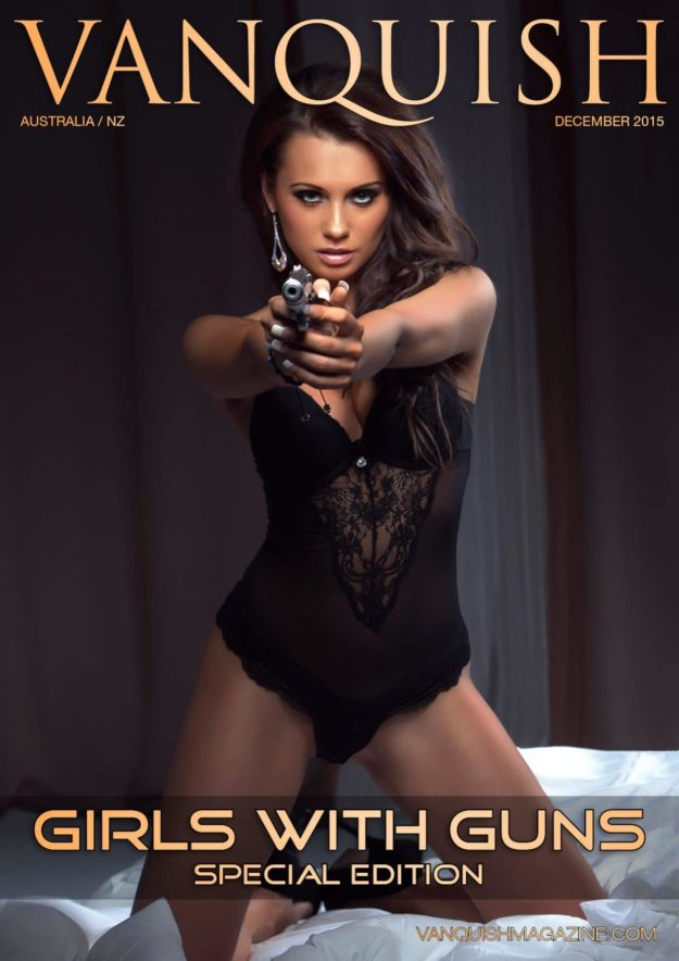 Vanquish Magazine – Girls With Guns – Kasia Bucko