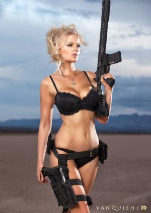 Vanquish Magazine – Girls With Guns – Kasia Bucko