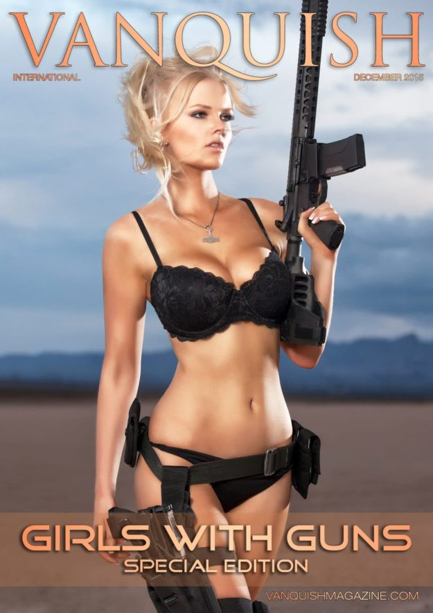 Vanquish Magazine – Girls With Guns – Zienna Eve
