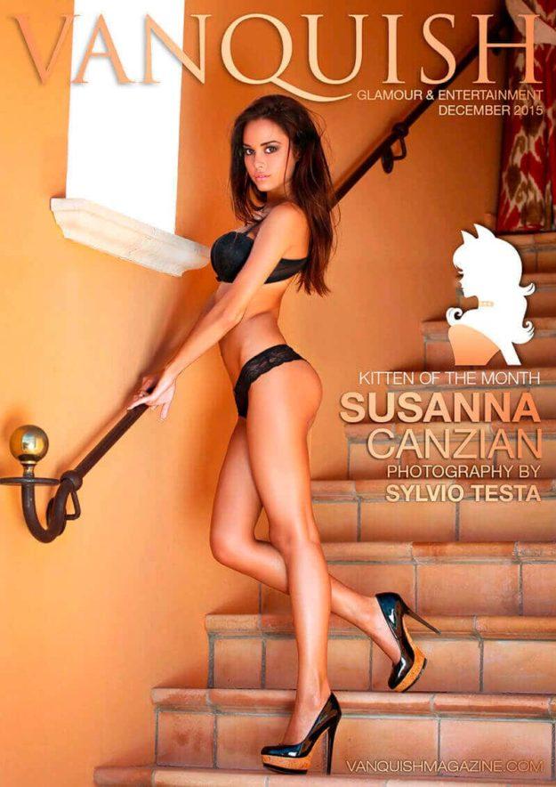 Vanquish Magazine – Christmas 2015 – Susanna Canzian – Issue 2