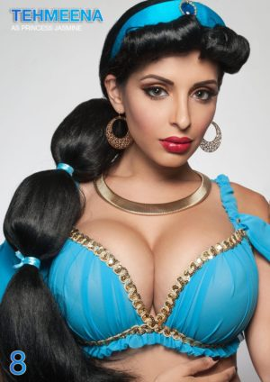 Heroes And Villains Of Cosplay – Issue 2 –  Princess Jasmine