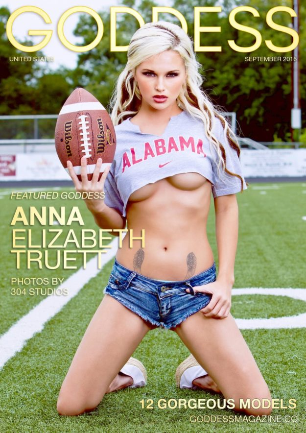 Goddess Magazine – September 2016 – Anna Elizabeth Truett
