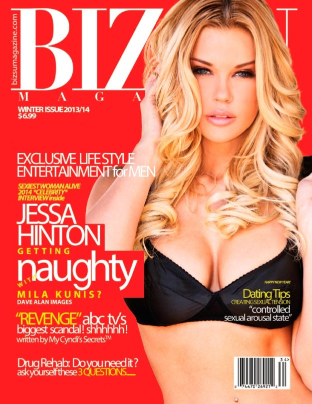 Bizsu Magazine – Winter 2013 – Jessa Hinton
