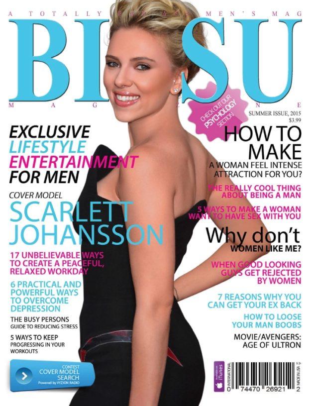 Bizsu Magazine – Summer 2015 – Scarlett Johansson