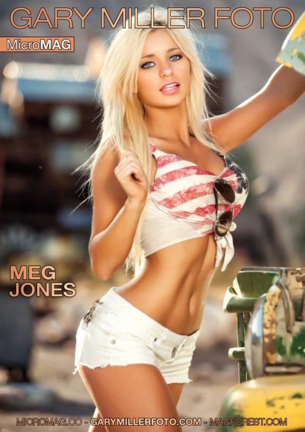 Gary Miller Foto Micromag – Meg Jones – Issue 1