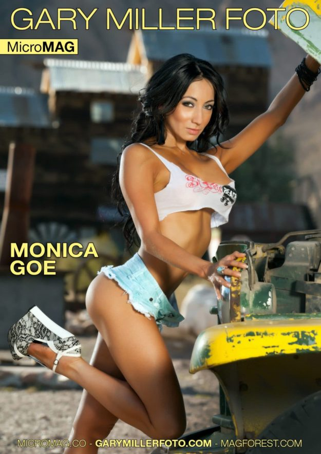 Gary Miller Foto Micromag – Monica Goe – Issue 1