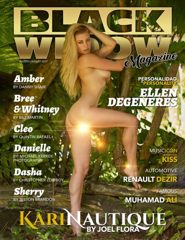 Black Widow Magazine – August 2017