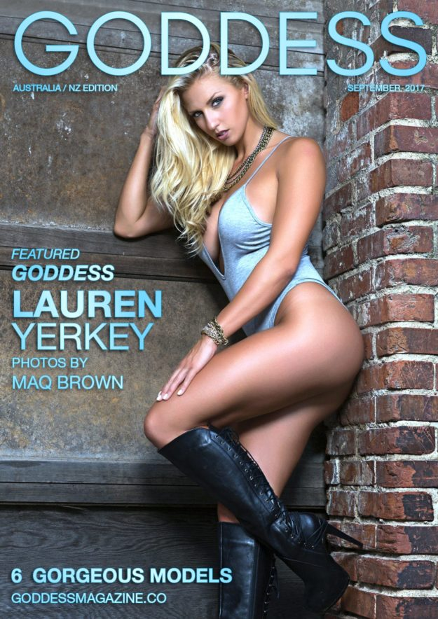 Goddess Magazine – September 2017 – Lauren Yerkey