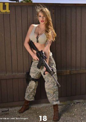 Unique Magazine – Armed Women 2 – February 2018