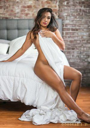 Goddess Magazine – April 2018 – Maya Moon Model