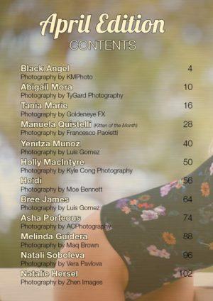 Vanquish Magazine – April 2018 – Tania Marie