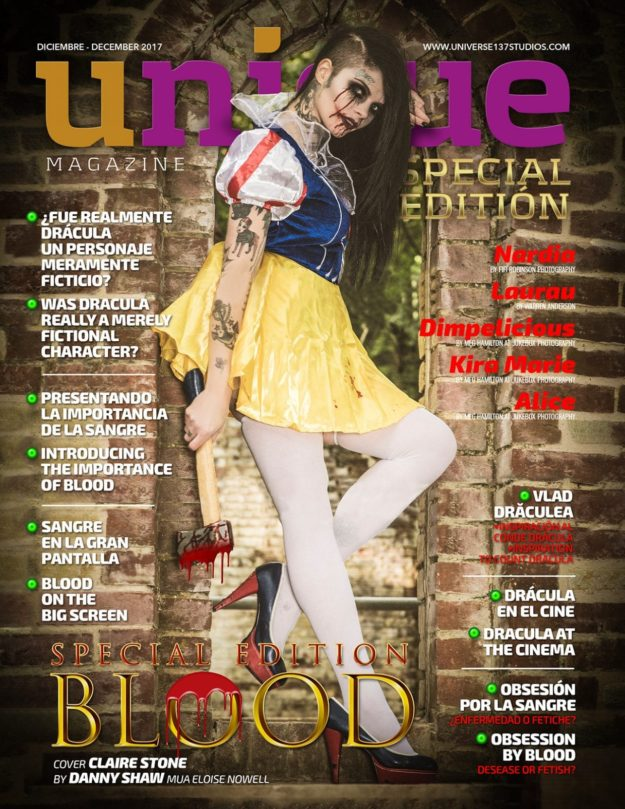 Unique Magazine – Blood Special Edition – December 2017