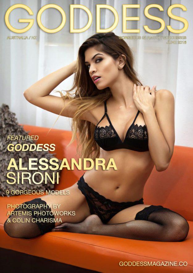 Goddess Magazine – June 2016 – Alessandra Sironi