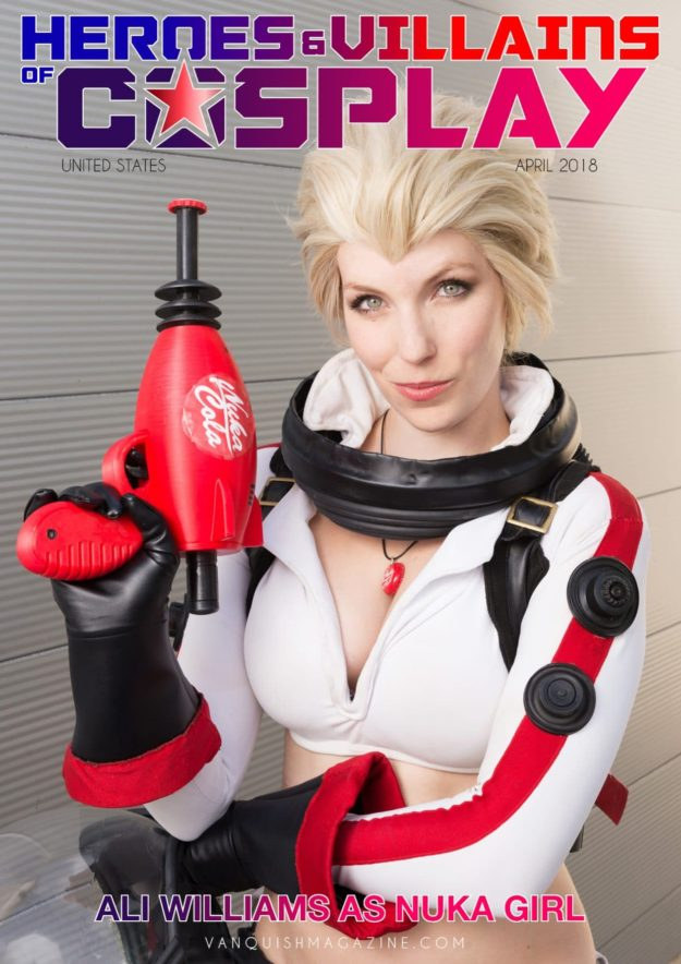 Heroes And Villains Of Cosplay – Issue 3 – Nuka Girl