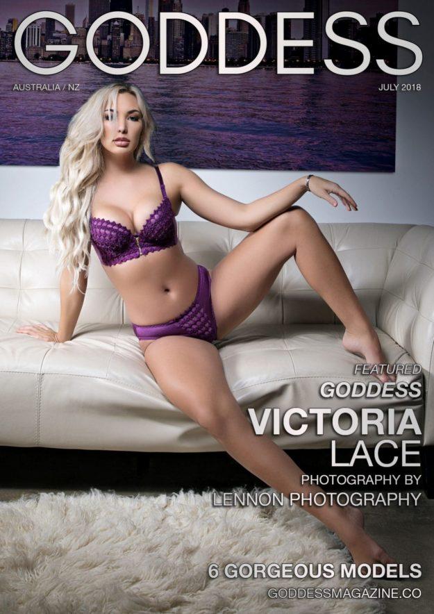 Goddess Magazine – July 2018 – Victoria Lace