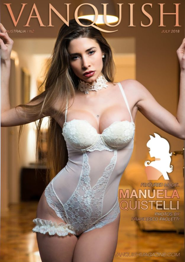 Vanquish Magazine – July 2018 – Manuela Quistelli