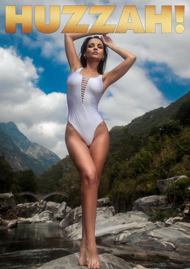 Huzzah! Magazine – July 2018 – Angelina Petrova