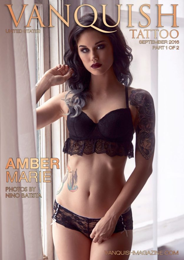 Vanquish Tattoo Magazine – September 2016 – Amber Marie – Usa