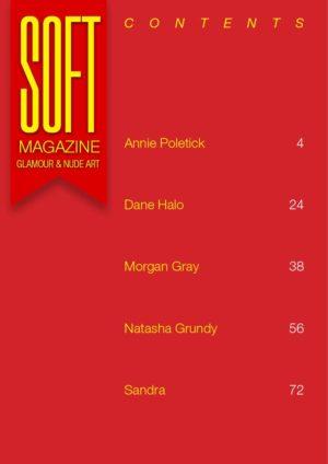 Soft Magazine – October 2018 – Morgan Gray