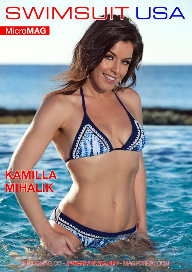 Swimsuit Usa Micromag – Kamilla Mihalik – Issue 1