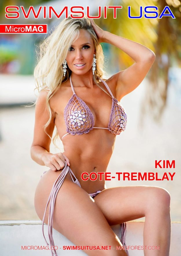 Swimsuit Usa Micromag – Kim Cote-tremblay – Issue 2