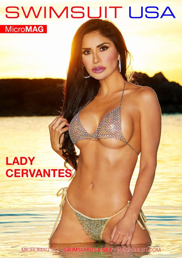 Swimsuit Usa Micromag – Lady Cervantes – Issue 2